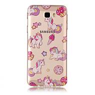 Kılıf Na Samsung Galaxy J7 Prime IMD Przezroczyste Wzór Etui na tył Jednorożec Miękkie TPU na J7 (2016) J7 Prime J7 J5 (2016) J5 J3 J3
