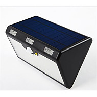 9600mah ile bir gövde sensörü sokak lambaları açık su geçirmez güneş ışıkları dörtlü güneş ışıkları 60led