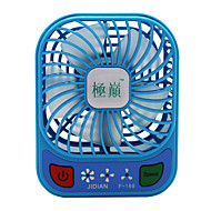 abordables Fans-Jidian f168 ventilador usb mini cargador pequeño ventilador portátil dormitorio mesa de escritorio de gran viento mute ventilador