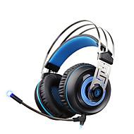 abordables Accesorios para Tablet y PC-A7 Sobre oreja / Cinta Con Cable Auriculares Dinámica El plastico De Videojuegos Auricular Con control de volumen / Con Micrófono /