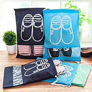 Shoes Bag Travel Shoe Bag Quick Dry Dust Proof Foldable Ultra Light(UL) Travel Storage Thick for Clothes Fabric / Travel