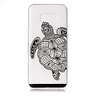 hoesje Voor Samsung Galaxy S8 Plus S8 Transparant Reliëfopdruk Patroon Achterkantje dier Zacht TPU voor S8 S8 Plus S7 edge S7
