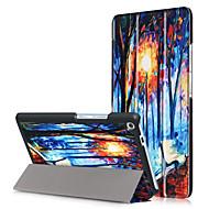 preiswerte Tablet Zubehör-Hülle Für Lenovo Ganzkörper-Gehäuse Tablet-Hüllen Hart PU-Leder für