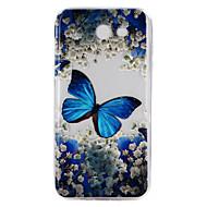 Case Kompatibilitás Samsung Galaxy J7 Prime J5 Prime Átlátszó Dombornyomott Minta Hátlap Mandala Puha TPU mert J7 (2016) J7 Prime J5