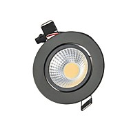 3W 2G11 LED Downlights Recessed Retrofit 1 COB 250 lm Warm White Cold White K Decorative AC85-265 V
