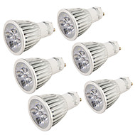 5W GU10 LED-spotlampen R63 5 leds Krachtige LED 400-450lm Warm wit Koel wit 3000/6000K Decoratief AC 220-240 AC 110-130