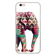 Für iPhone X iPhone 8 Hüllen Cover Ultra dünn Muster Rückseitenabdeckung Hülle Elefant Weich TPU für Apple iPhone X iPhone 8 Plus iPhone