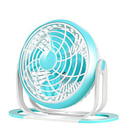 Neue usb-Desktop-Fan-Brise ruhigen kleinen Haus-Schlafsaal zwei einstellbare Luft-Volumen-Fan kreative Geschenk-Fan