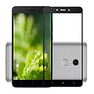 billige -Skjermbeskytter XIAOMI til Xiaomi Redmi Note 4X Herdet Glass 1 stk Heldekkende beskyttelse 2,5 D bøyd kant 9H hardhet Høy Oppløsning (HD)