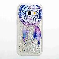 Etui Käyttötarkoitus Samsung Galaxy A5(2017) A3(2017) Virtaava neste Kuvio Takakuori Uni sieppari Pehmeä TPU varten A3 (2017) A5 (2017)