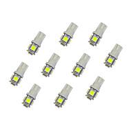 preiswerte -T10 Auto Leuchtbirnen 0.8 W SMD 5050 55 lm LED Innenbeleuchtung