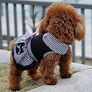 abordables Disfraces de Navidad para mascotas-Perro Vestidos Ropa para Perro Princesa Negro Algodón Disfraz Para mascotas Hombre Mujer Clásico Bonito Casual/Diario Vacaciones