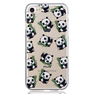 For iPhone 8 iPhone 8 Plus Case Cover Pattern Back Cover Case Panda Soft TPU for Apple iPhone 8 Plus iPhone 8 iPhone 7 Plus iPhone 7