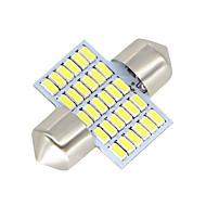 お買い得  -SO.K 2pcs 31mm 車載 電球 3 W SMD 3014 300 lm LED インテリアライト