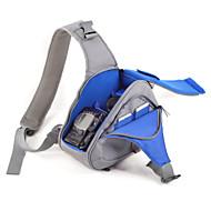 SLR- para-bolsa-Un Hombre--Negro Gris Azul