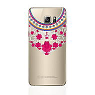 tanie Galaxy S5 Etui / Pokrowce-Kılıf Na Samsung Galaxy S8 Plus S8 Przezroczyste Wzór Etui na tył Koronka Printing Miękkie TPU na S8 Plus S8 S7 edge S7 S6 edge plus S6