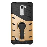 voordelige Telefoon hoesjes-Voor lg k10 k8 case cover 360 graden rotatie armor combo drop armor telefoon hoesje k7 v20 g6 x power x stijl