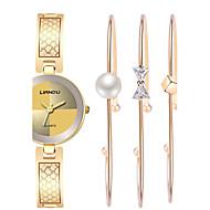 Mujer Reloj de Vestir Reloj de Moda Reloj de Pulsera Reloj Pulsera Cuarzo Resistente al Agua Resistente a los Golpes ColoridoAcero
