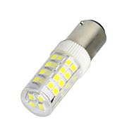 YWXLight® BA15D 5W 52LED 2835 SMD 400-500 Lm Cool White Warm White  LED Lamp AC 220V / AC 110V 1 Pcs
