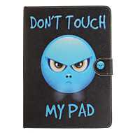 Voor appel nieuwe ipad 9.7 2017 case fashion cartoon hoesje smart cover funda tablet lederen flip stand hoesje voor ipad2345 / ipad mini