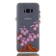Для samsung s8 s8 плюс чехол покрытие дерево узор окрашенный материал tpu светящийся чехол для телефона s7 s7edge