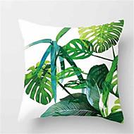 cheap Home Textiles-1Pcs Fashion Tropical Plant Sofa Cushion Peach Skin Pillow Cover