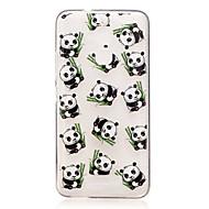 Для asus zenfone 3 max zc520tl чехол чехол панда рисунок задняя крышка мягкий tpu