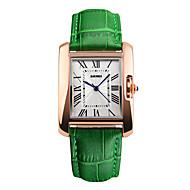 billige Pæne ure-Herre Unik Creative Watch Armbåndsur Kjoleur Modeur Sportsur Kinesisk Digital Vandafvisende Ægte læder Bånd Vedhæng Elegant Sej