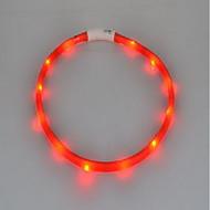 Gallérok LED fények Újratölthető Strobe Egyszínű Szilikon