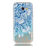 Samsung Galaxy a5 (2017) a3 (2017) puhelimen tapauksessa TPU-materiaali lähtee kuvio helpotus puhelimen tapauksessa