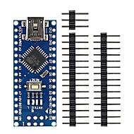 お買い得  Arduino 用アクセサリー-ミニUSBのnano 3.0 atmega328p arduinoのための開発ボードの部品