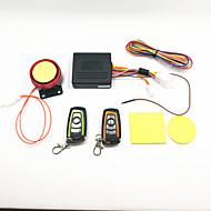abordables Piezas de Moto y de Quad-alarma antirrobo de la motocicleta y control remoto a dos colores a prueba de agua