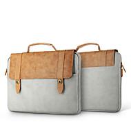 """voordelige Mac-hoezen & Mac-tassen & Mac-etuis-Handtassen / Mouwen Effen PU-nahka voor Nieuwe MacBook Pro 13"""" / MacBook Air 13"""" / MacBook Pro 13"""""""