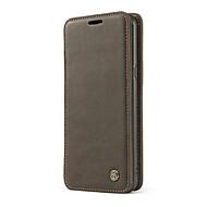 Недорогие Чехлы и кейсы для Galaxy S8-Кейс для Назначение SSamsung Galaxy S8 Plus S8 Бумажник для карт Кошелек Защита от удара со стендом Кольца-держатели Флип Чехол Сплошной