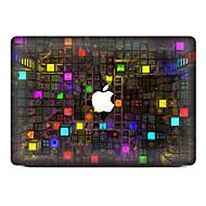 1 kpl Naarmunkestävä Geometrinen Läpinäkyvä muovi Tarrakalvo Kuviointi VartenMacBook Pro 15'' with Retina MacBook Pro 15 '' MacBook Pro