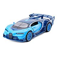 voordelige -Speelgoedauto's Modelauto Speeltjes Simulatie Muziek en licht Automatisch Metaallegering Metaal Stuks Unisex Jongens Geschenk