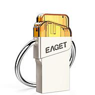 Eaget v66 32g otg usb 3,0 micro usb støtbestandig flash-stasjon u disk for android mobiltelefon tablett pc