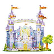 billige Legetøj og hobbyartikler-3D-puslespil Puslespil Modelbyggesæt Borg Berømt bygning Arkitektur GDS Kort Papir Klassisk Tegneserie Unisex Gave