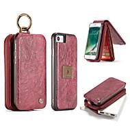 Недорогие Модные популярные товары-Чехол для iphone 7 плюс 7 корпусов люкс ретро многофункциональный 2 в 1 секунду слой кожаный чехол магнит задняя крышка 6 плюс 6