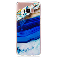 Кейс для Назначение SSamsung Galaxy S8 Plus S8 С узором Задняя крышка Пейзаж Мрамор Мягкий TPU для S8 S8 Plus S7 edge S7 S6 edge S6