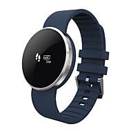abordables Tendencias actuales de la tecnología-Pulsera inteligente UW1X para Android iOS Bluetooth Deportes Impermeable Monitor de Pulso Cardiaco Medición de la Presión Sanguínea Calorías Quemadas Podómetro Recordatorio de Llamadas Seguimiento