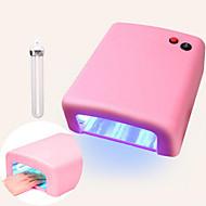 abordables Cabello y Uñas-pinpai jd818 luz de la terapia de la máquina 36w de la lámpara uñas de aceite uv herramienta de manicura de secado