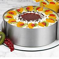 olcso Konyhai eszközök-Bakeware eszközök Rozsdamentes acél / Szintetikus / Acél Több funkciós / Nem tapad / Sütés eszköz Mert főzőedények / Cake süteményformákba 1db