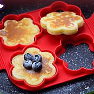 Εργαλεία cookie για αυγό Για μαγειρικά σκεύη Σιλικόνη ψήσιμο Εργαλείο Φιλικό στο Περιβάλλον