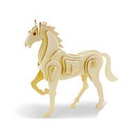 お買い得  おもちゃ & ホビーアクセサリー-3Dパズル ジグソーパズル ウッド模型 恐竜 飛行機 馬 アニマル 3D DIY 木製 ウッド クラシック 男女兼用 ギフト
