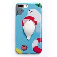 Para Carcasa Funda Diseños Manualidades Blando Cubierta Trasera Funda Caricatura Suave TPU para AppleiPhone 7 Plus iPhone 7 iPhone 6 Plus