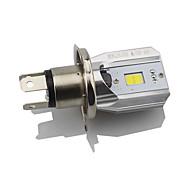 1шт h4 светодиодный фонарик для мотоцикла hi lo луч для езды drl лампа белый 6000k dc12v-80v
