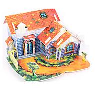 お買い得  おもちゃ & ホビーアクセサリー-3Dパズル / ジグソーパズル / ペーパーモデル 家 DIY 高品質紙 クラシック 子供用 男女兼用 / 男の子 / 女の子 ギフト