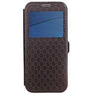 お買い得  携帯電話ケース-ケース 用途 Motorola カードホルダー スタンド付き フリップ エンボス加工 フルボディーケース 幾何学模様 ハード PUレザー のために モトG5プラス Moto G5