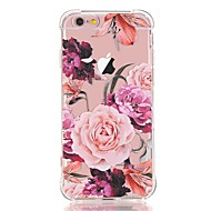 Para iPhone X iPhone 8 Carcasa Funda Transparente Diseños Cubierta Trasera Funda Flor Suave TPU para Apple iPhone X iPhone 8 Plus iPhone